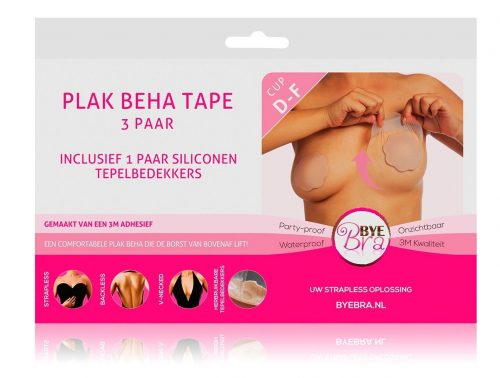 Bye Bra Plak BH siliconen tepelbedekkers huid cup A t/m H