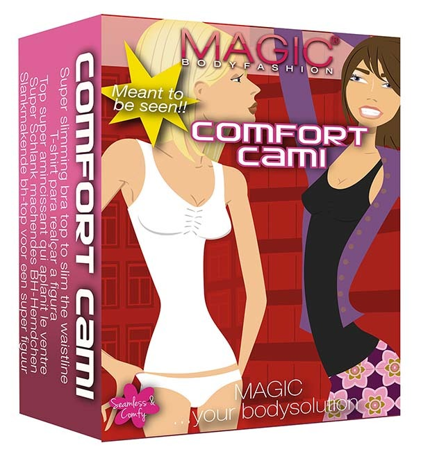 Magic Comfort Cami zwart