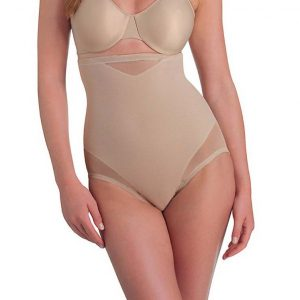 Miraclesuit Sheer Shaping Hi-Waist Brief 2785 huid