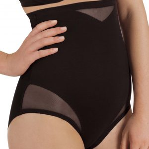 Miraclesuit Sheer Shaping Hi-Waist Brief 2785 zwart