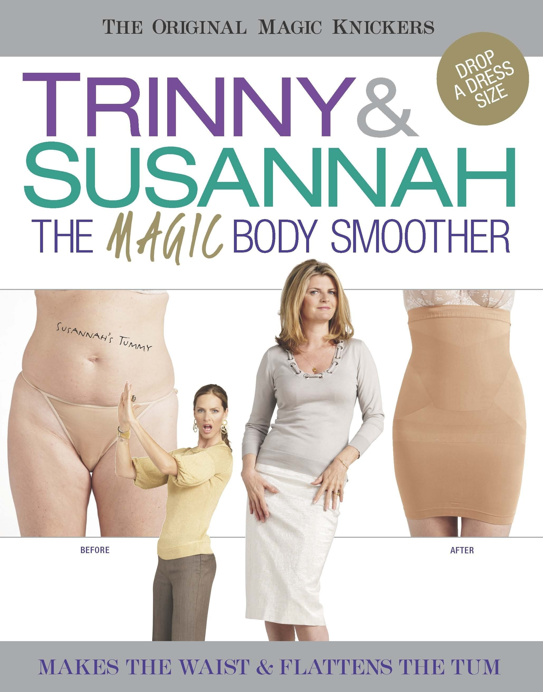 Trinny & Susannah the magic body smoother zwart