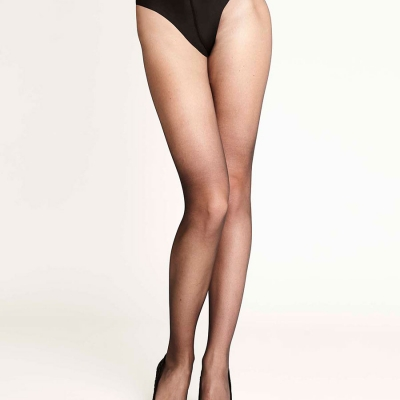 NO-MI Run Resistant Shaping Tights 8 den zwart