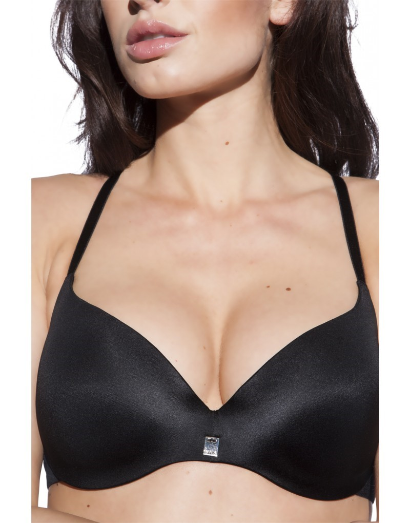 Sapph Comfort Light Push Up Beha zwart